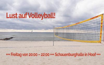 Lust auf Volleyball? – Wir suchen noch Verstärkung!